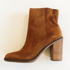 Franco Sarto Suede Leather boots